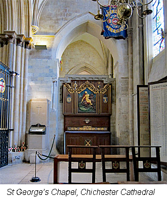 Thomas William Beer Memorialised in Chichester Cathedral