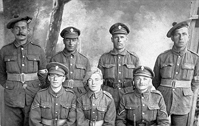 group photograph military taylor