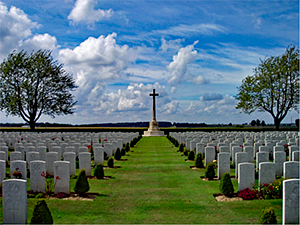 Caterpillar Valley Cemetery, Longueval, Somme
