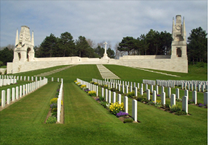 Etaples Military Cemetery, Pas de Calais, France