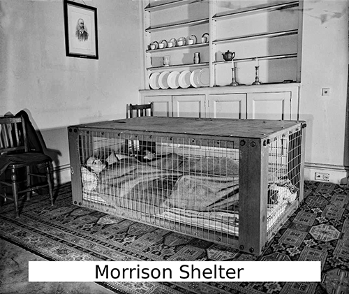 Morrison indoor Shelter