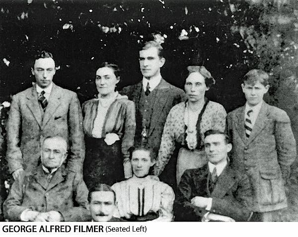 George Alfred Filmer in a family group