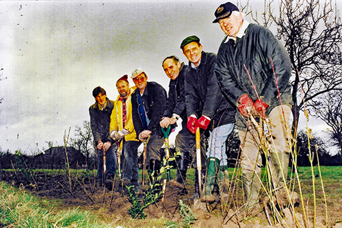 Breaking ground in 1997 in preparation for 2000 dedication